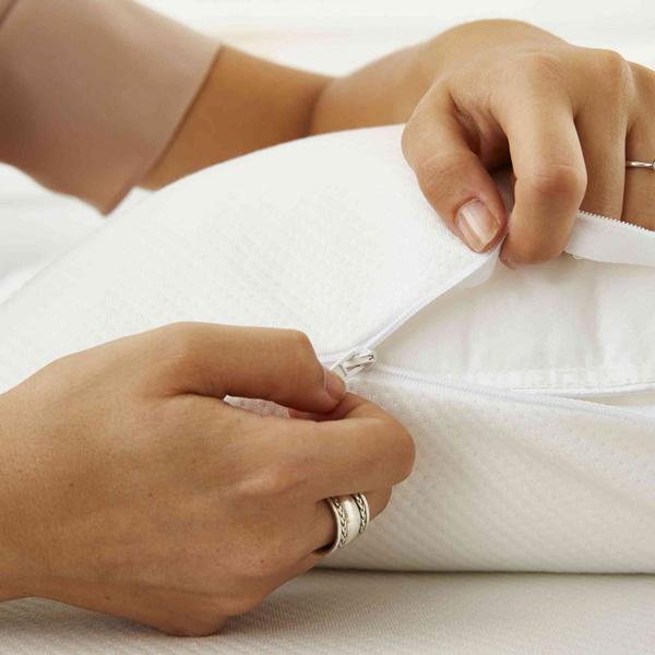 Protège oreiller anti acariens